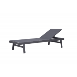 Tumbona modelo Concept color gris antracita.