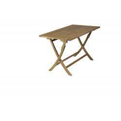 Mesa rectangular plegable