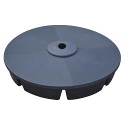 Base rellenable para sombrilla superluxe + base con ruedas para transporte