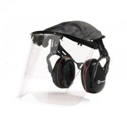 Protector auricular con plexivisor Husqvarna